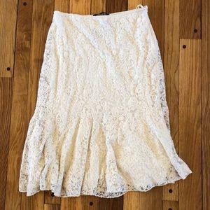 NWT Ralph Lauren Fit & Flare Skirt